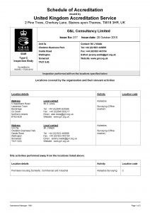 Memberships Amp Certificates G Amp L Consultancy Ltd